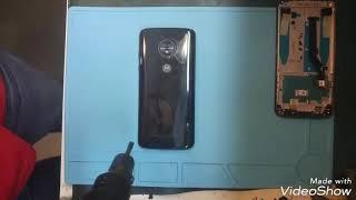Desmontagem Moto G6 Play
