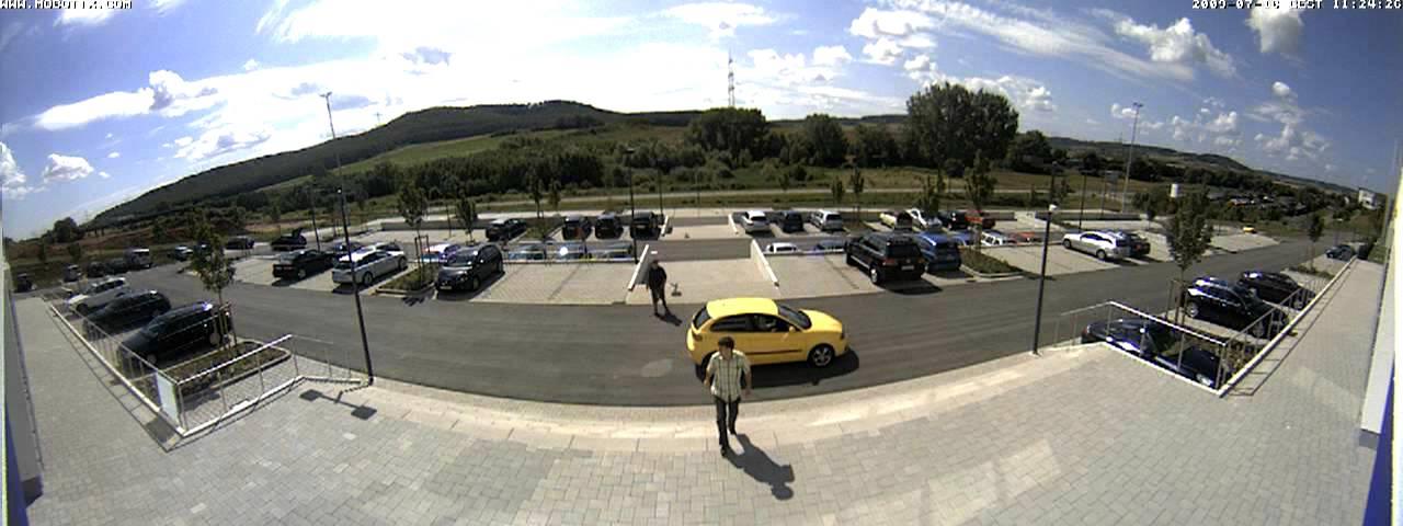 IP Camera - 180 degree Panoramic view