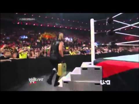 Seth Rollins using Triple H's old