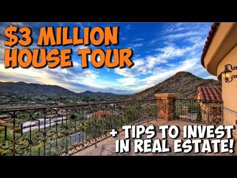 $3 MILLION DOLLAR MANSION TOUR IN PARADISE VALLEY AZ | Chris Record Vlogs 87