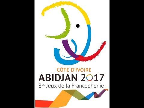 Cérémonie d'ouverture pour les 8eme jeux de la francophonie  en Côte d'Ivoire 2017