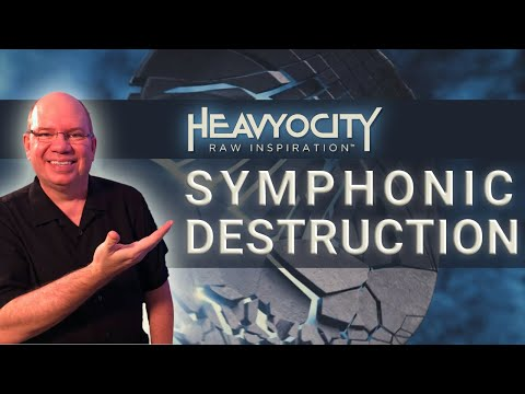 Let's Play Heavyocity SYMPHONIC DESTRUCTION | Aggressive Orchestral and Hybrid Scoring Tools