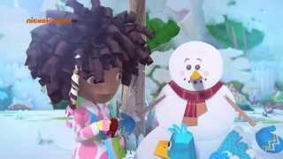 Зак и Кряк-Бумажный снеговик