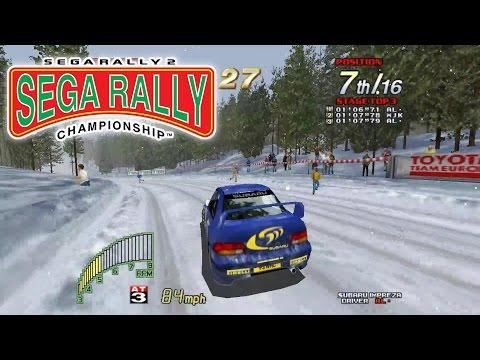 Sega Rally 2  - Supermodel SVN 520 (and comparison)
