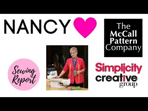LIVE 🔴 Remembering Nancy Zieman | Simplicity / McCall's Shake-Up | SEWING REPORT