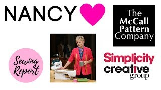 LIVE 🔴 Remembering Nancy Zieman   Simplicity / McCall's Shake-Up   SEWING REPORT thumbnail