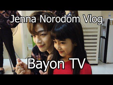 Jenna Norodom And Robin Vlogs! Bayon TV Cambodia Vlog