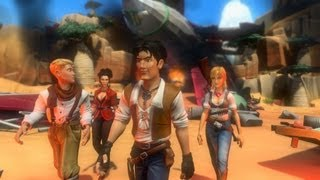 Jack Keane 2 The Fire Within - First Look HD Gameplay (Maxed Out) PC Version