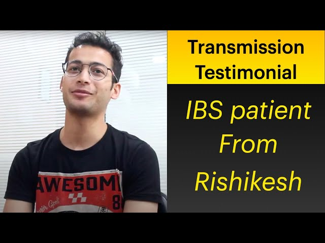 Patient of IBS from Rishikesh