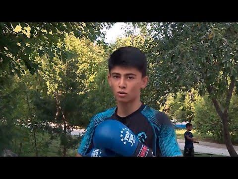 В Таджикистане открыли летний лагерь по тхэквондо и кикбоксингу