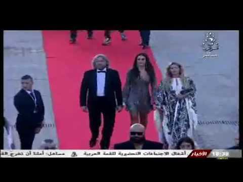 Cérémonie d'ouverture du festival du film arabe a Oran 22/07/2016 1er partie