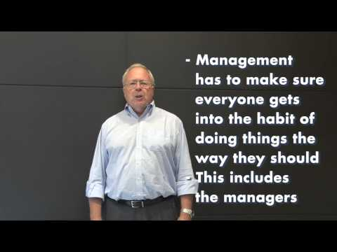 Professor Patrick Hudson: Moving up the culture ladder
