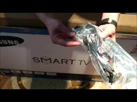 Samsung 5600 Smart TV - Unboxing,Setare si Review Initial Lb