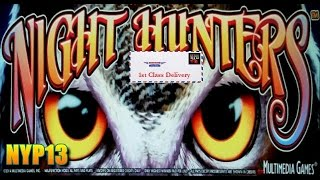 *NEW DELIVERY* MultiMedia - Night Hunters Slot Bonus MAX BET WIN