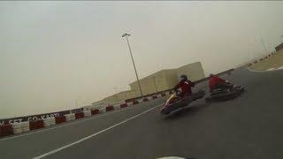 UAEtrips.com : Go Kart 2013 Compilation of Crashes & Drifting (Dubai Autodrome)