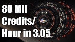 Elite: Dangerous - 70-80 Million Credits/hour in 3.05