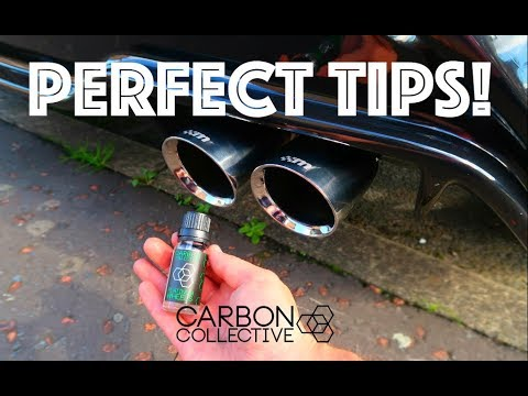 KEEPING EXHAUST TIPS SHINY! | CARBON COLLECTIVE | FIESTA ST