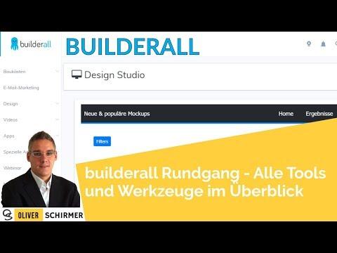 builderall Rundgang - Alle Tools und Werkzeuge im Überblick