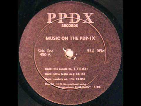 Music On The PDP1X: Early Computer music 1960s MIT hacker Peter Samson PDP1 polyphonic compiler