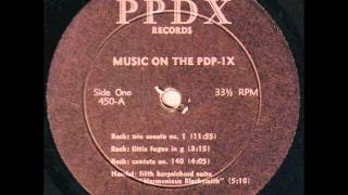 Music On The PDP-1X: Early Computer music 1960