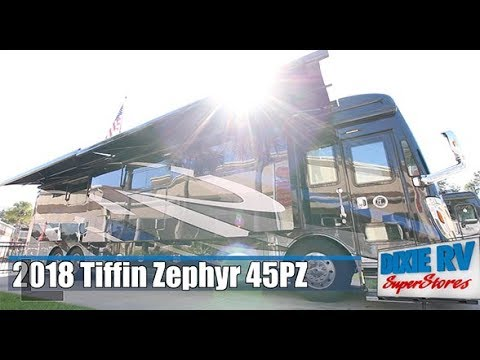 2018 Tiffin Zephyr 45PZ for sale now at Dixie RV in Hammond, Louisiana