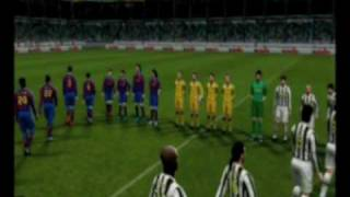 Pro Evolution Soccer (Nintendo Wii) Gameplay #1