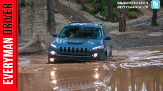 2015 Jeep Cherokee Trailhawk 4x4 on Everyman Driver (Off-Road Test Drive)