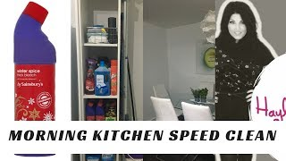 READY TO CLEAN? Morning Kitchen Speed Clean with Tipsl