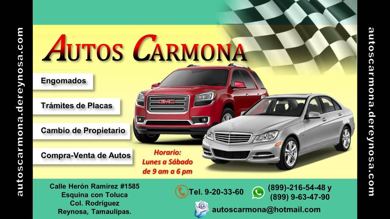 Autos Carmona De Reynosa Tamaulipas Youtube