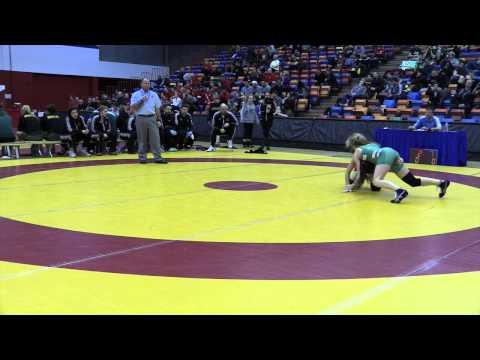 2015 Canada West Championships: 48 kg Kaitlin Kucharski vs. Annie Monteith