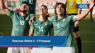Bolivia vs Paraguay (4 - 0): resumen del partido – Eliminatorias Sudamericanas