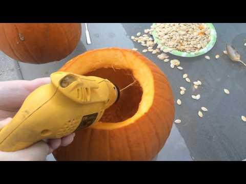 Halloween Pumpkin Cleanout Hack