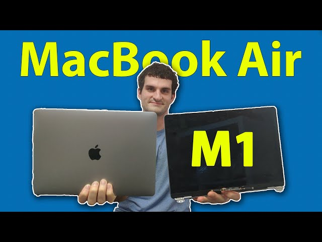 MacBook Air M1 A2337 Liquid Spill Screen Replacement and touchpad