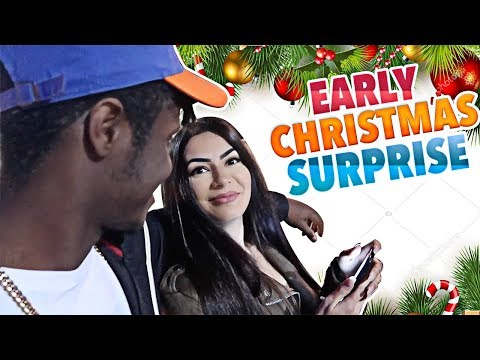 I SURPRISED MY GIRLFRIEND WITH A EARLY CHRISTMAS GIFT! | VLOGMAS DAY 6