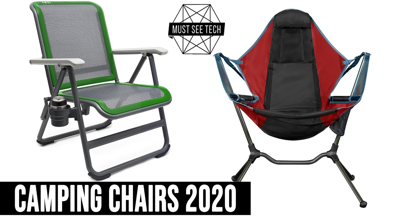 Top 8 Camping Chairs With Lightweight And Fordable Constructions For Your Next Outdoor Trip Youtube