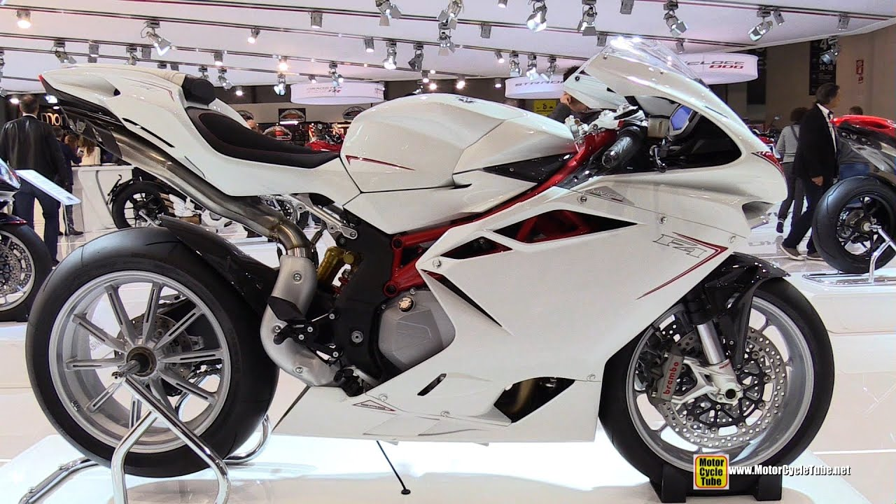 2015 MV Agusta F4 - Walkaround - 2014 EICMA Milan Motorcycle ...