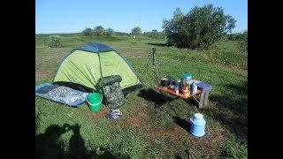 Поход к реке,ночевка,рыбалка(уха,шашлык) . Мозырь, Беларусь.