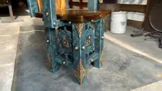 Мебель под старину из массива дерева и металла для беседок, бань, ресторанов, кафе, баров, дачь(, 2015-05-18T12:26:37.000Z)