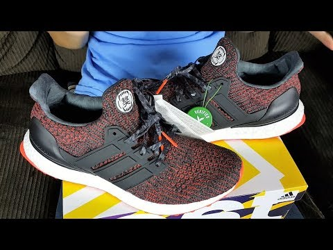 539a9099052c1 StockX Under Retail Cop!!!! Adidas Ultra Boost 4.0 Chinese New Year  Review!!!