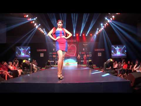 Fashion Show By Lakhotia Institute Of Fashion Design at Hyderabad,India