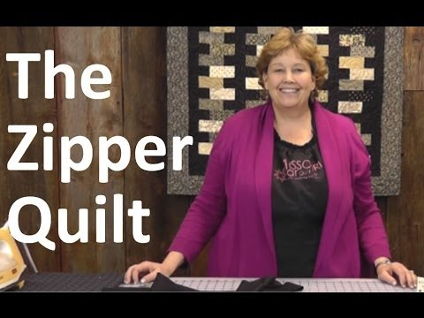 The Zipper Quilt Quilting Made Easy Youtube