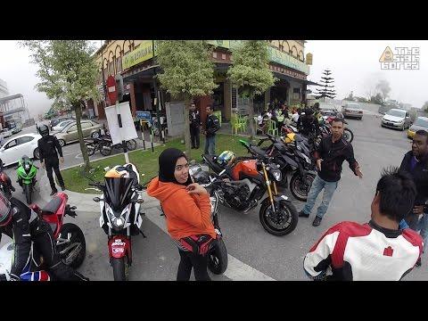 Weekend large group Gohtong Jaya ride