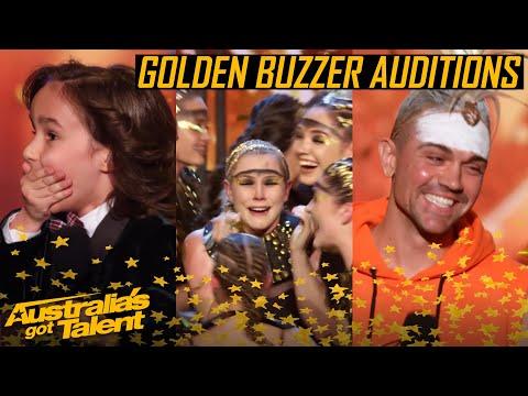GOLDEN BUZZER Auditions | All The Golden Buzzer Auditions | Australia's Got Talent 2019