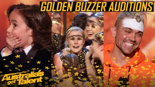 GOLDEN BUZZER Auditions | All The Golden Buzzer Auditions | Australia's Got Talent 2019