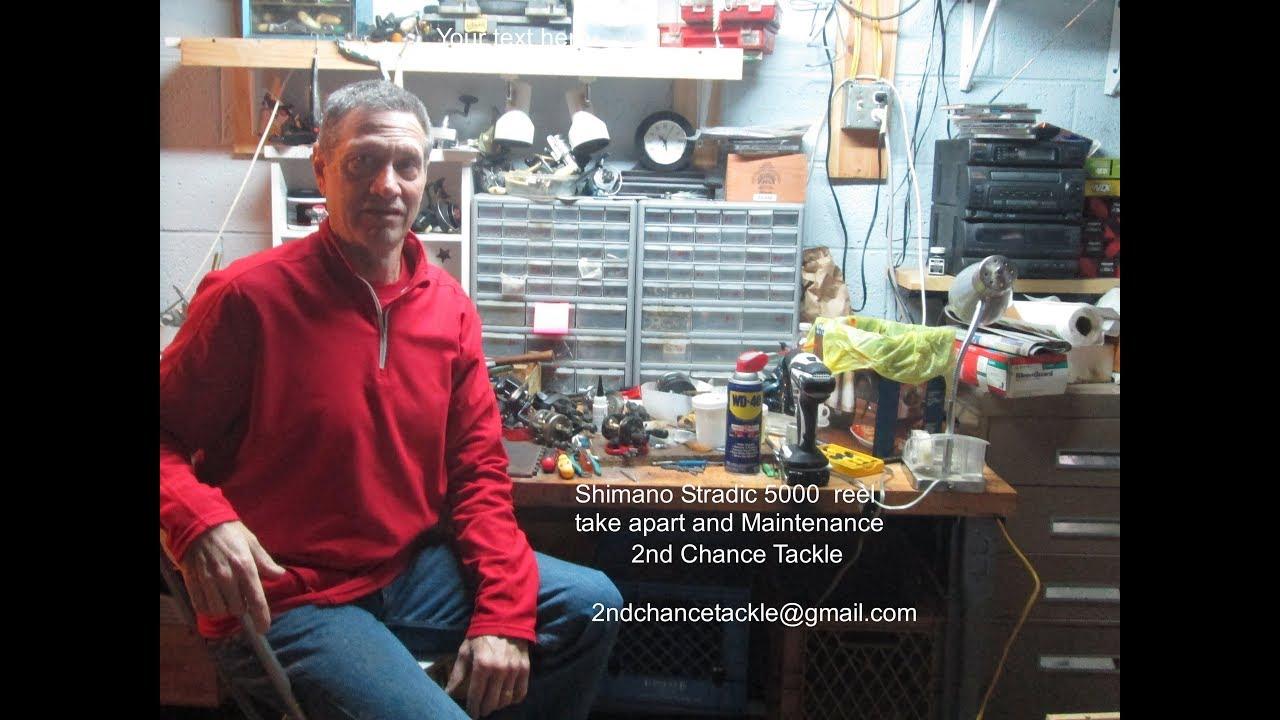 Shimano Stradic 5000 maintenance and take apart
