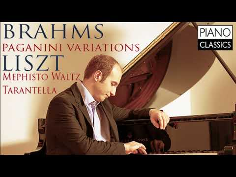 Brahms Paganini Variations & Liszt Various Piano Works (Full Album)