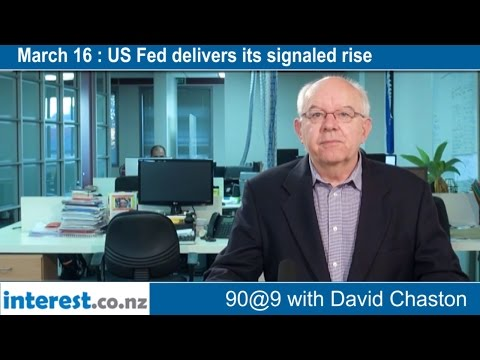 90 seconds @ 9am : US Fed delivers its signaled rise