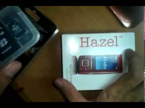 Khui Hộp Sony Ericsson Hazel