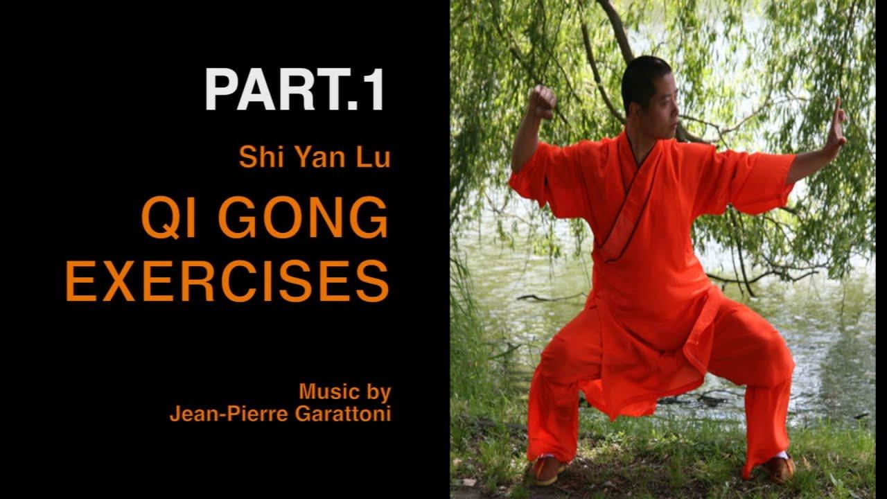 Shaolin QI GONG Exercises Pt 1