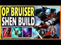 THIS BRUISER SHEN BUILD IS SO FUN! - Season 9 Shen ADC Gameplay | Unranked to Challenger EP 11